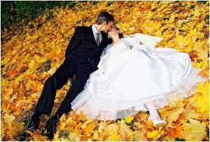 Бракосочетание осенью