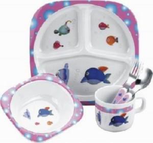 Детская посуда – особенности и виды
