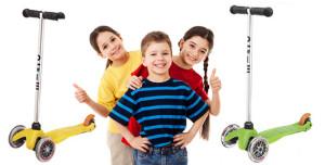 Удобные, безопасные и невероятно полезные детские самокаты