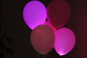 Светодиодные воздушные шары – лучшее украшение любого праздника