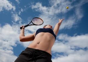 Большой теннис – ощутимая польза для здоровья ребенка