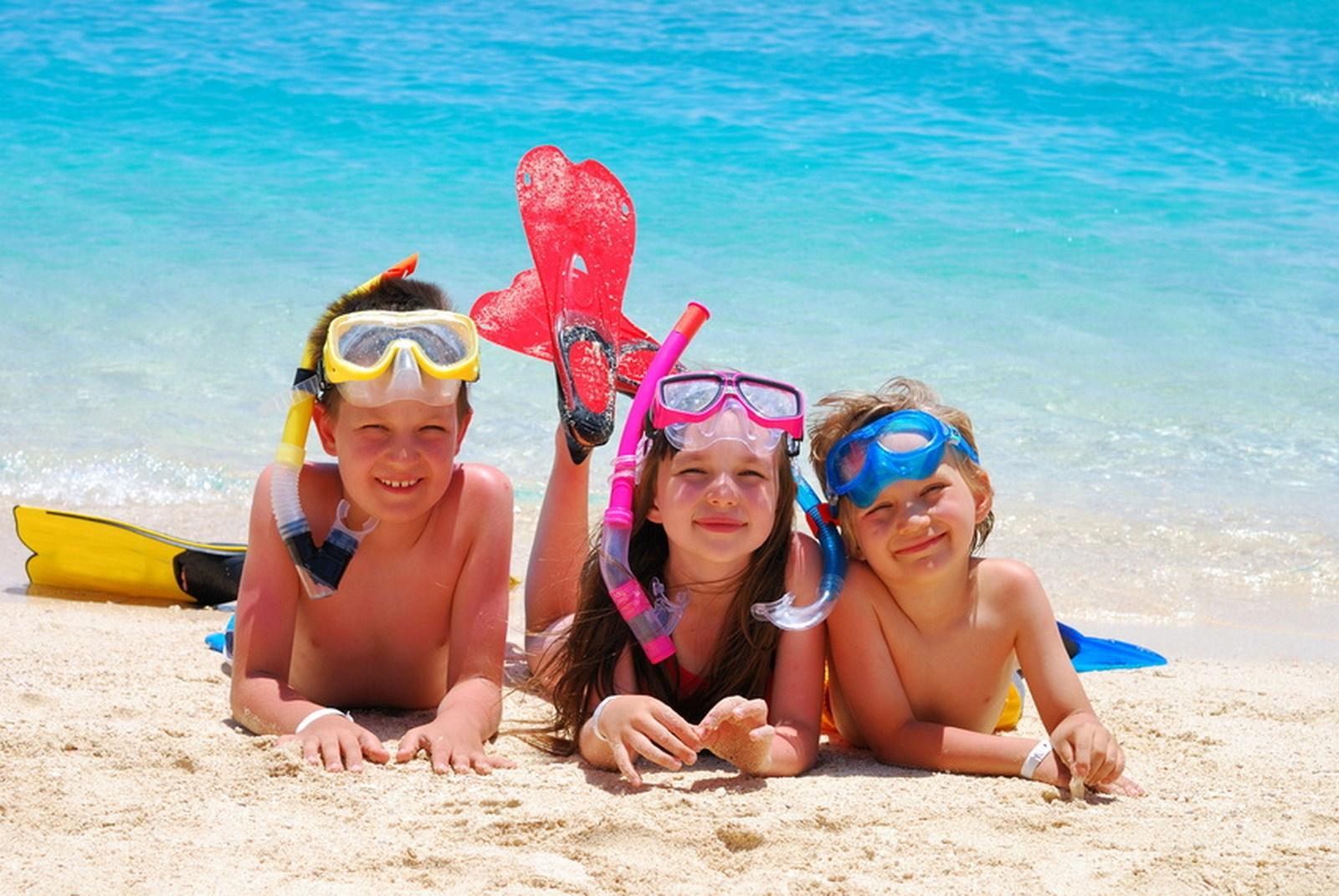 Фото с надписью дети море отдых