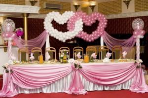 Полезные советы по оформлению свадьбы воздушными шарами