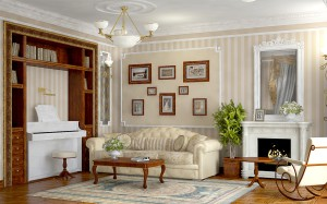 Какие цвета и мебель характерны для французского стиля в интерьере?