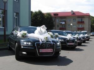 Выбор транспорта для свадебного кортежа