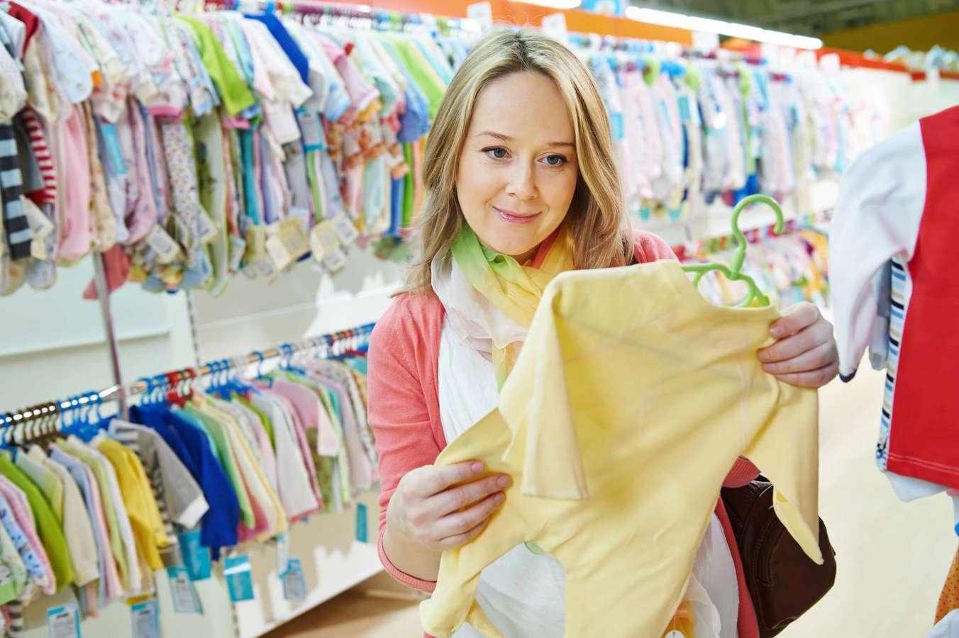 Если вы увидели какую-либо одежду крохи, то нужно вспомнить ее состояние, цвет, примерный размер.