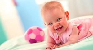 Развитие малыша в первый год жизни