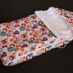 Конверт на выписку как первый и самый важный элемент гардероба новорожденного