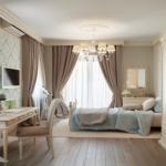 Ключевые особенности по выбору штор в интерьер комнаты