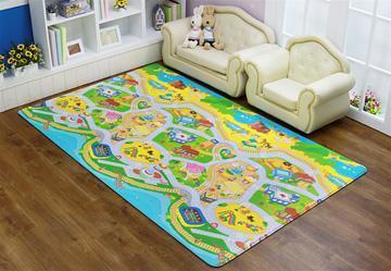 Как выбирать детские коврики на пол