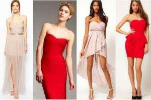 Вечернее платье-футляр: виды и повод для показа