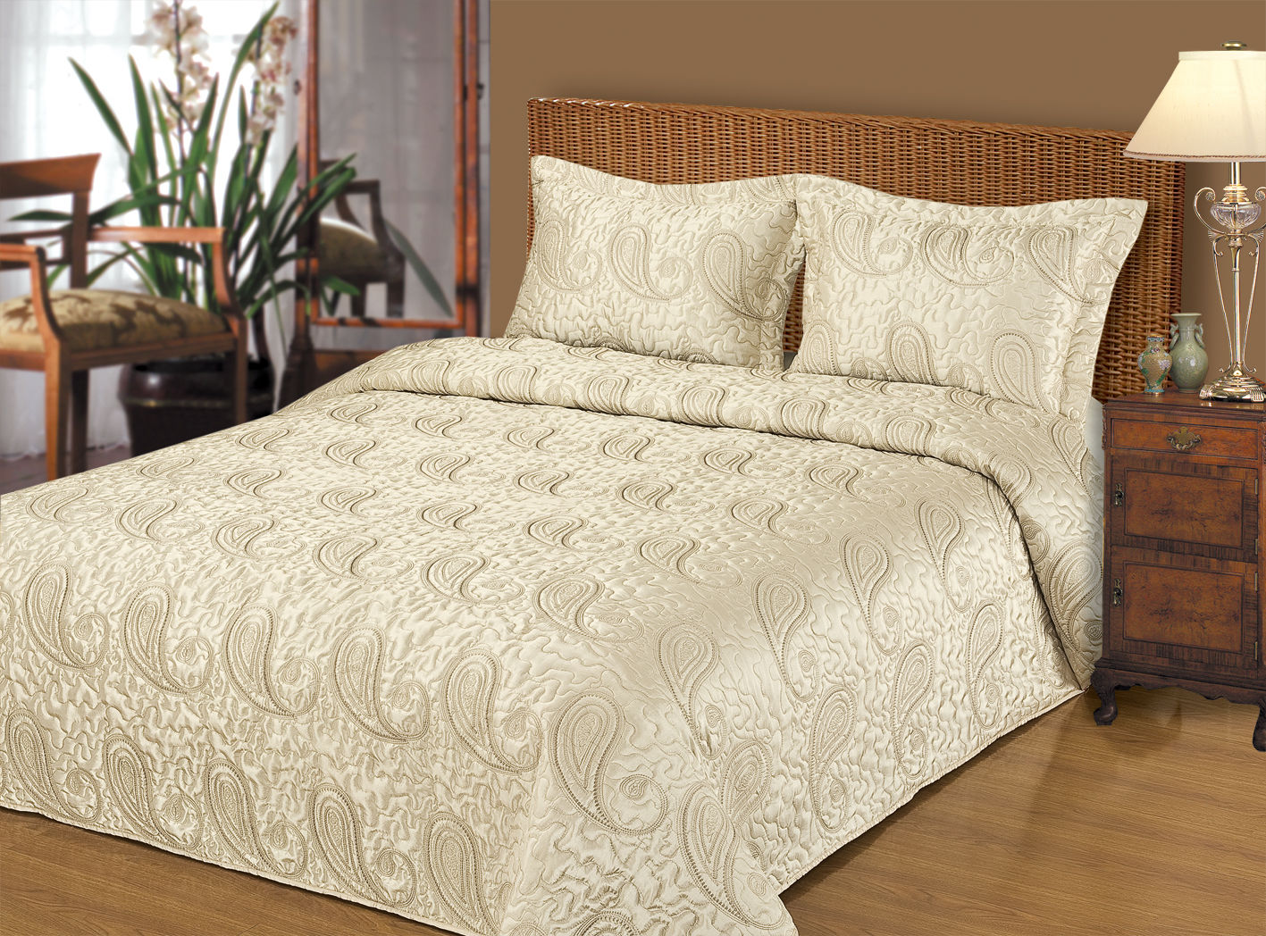 На что нужно обратить внимание при выборе покрывала для кровати