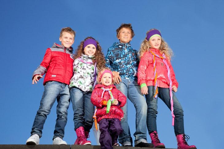 Верхняя детская одежда и правила ее приобретения