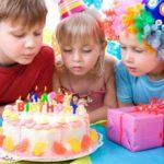 Праздничный торт для детского праздника