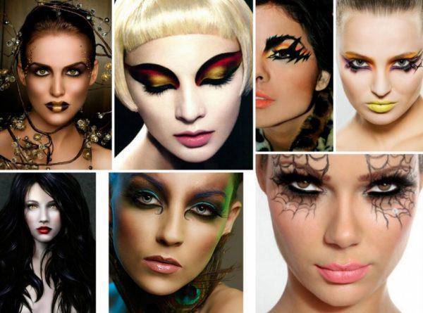 Создание макияжа на Хэллоуин