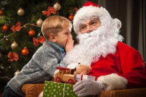 Новогоднее поздравление для ребенка