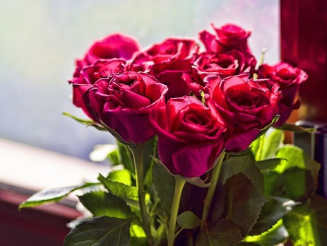 Букет цветов для офиса