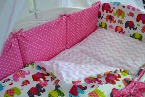 Простыни в детскую кроватку