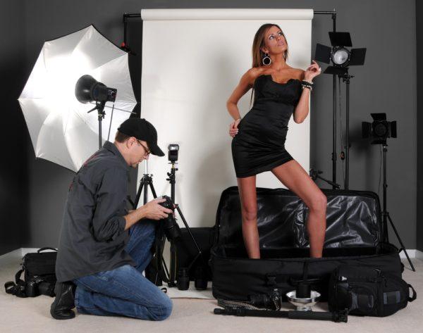 Профессиональная фотосессия в студии
