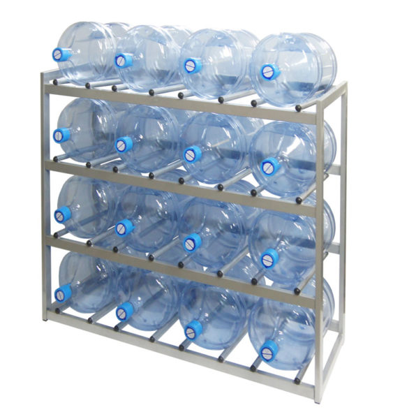 Комфорт в использовании стеллажа для бутилированной воды