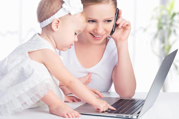Как молодая мама в декрете может получать дополнительный доход