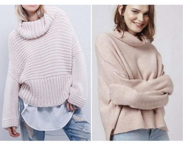 Вязанный свитер как неотъемлемый атрибут женского гардероба