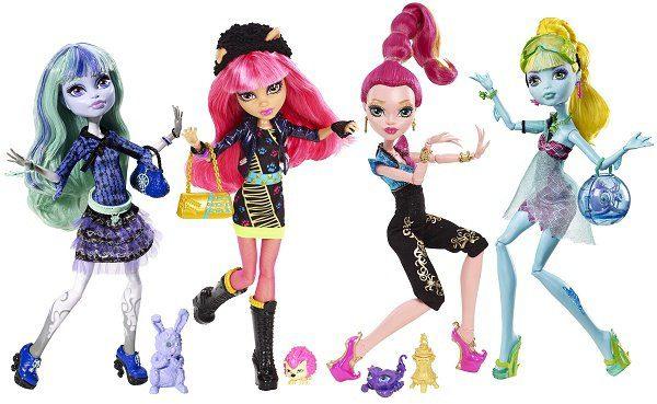 Где посмотреть фото кукол Monster High и что они вообще из себя представляют