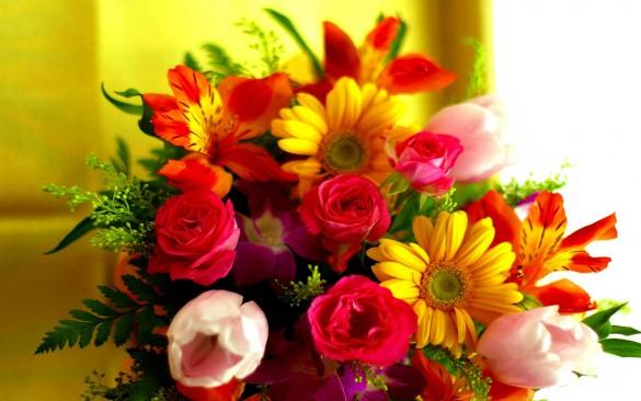 Красивые цветы – сюрпризы для любимых