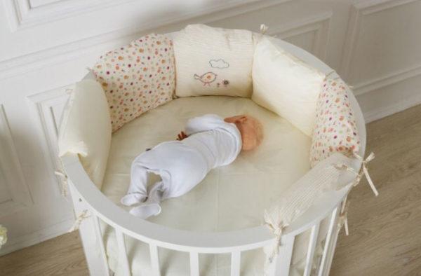 Характеристика и особенности круглых кроватей трансформеров в детскую