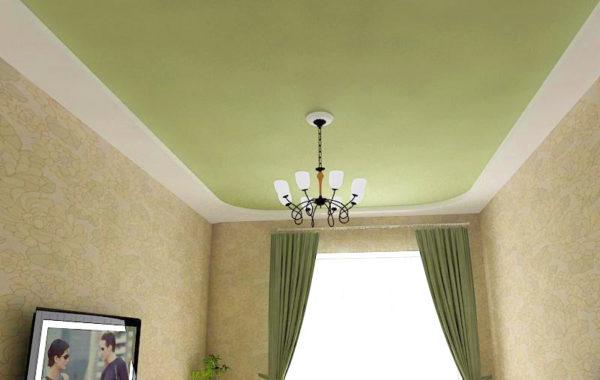 Почему цветные натяжные потолки пользуются популярностью