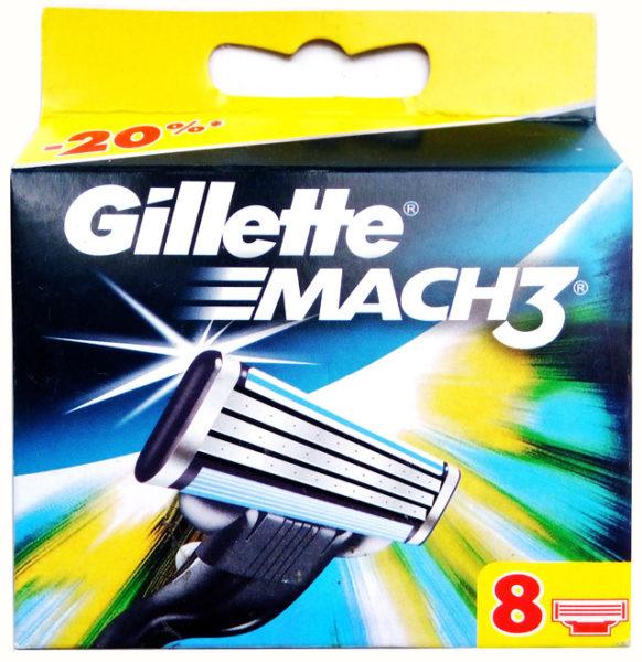 Gillette - лезвия для идеального бритья
