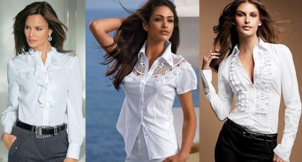 Как выбрать женскую блузку