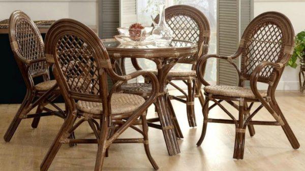 Плетеная мебель для идеального интерьера