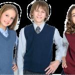 «Альфа-Трикотаж» - стильные и качественные жилетки для школьников