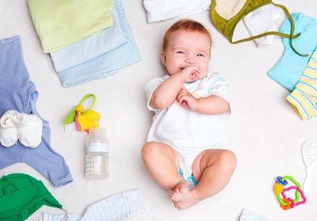 Что нужно купить новорожденному ребенку