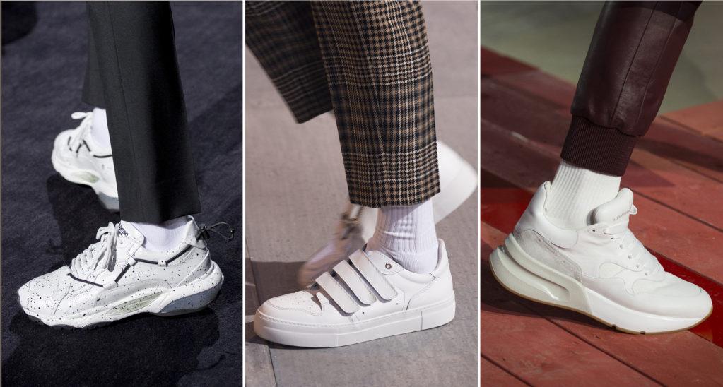 Носки под белые кроссовки – полезные советы по выбору