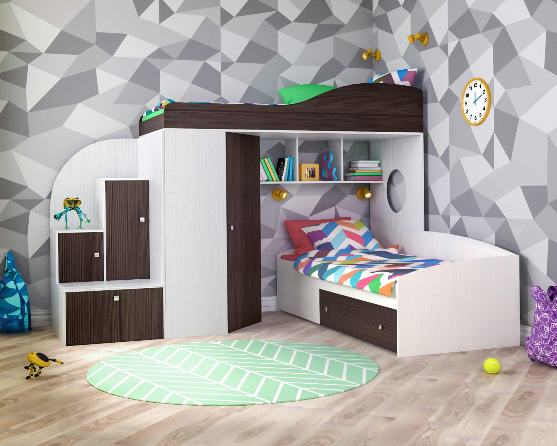 Надежные детские кровати от мебельной фабрики ЯРОФФ
