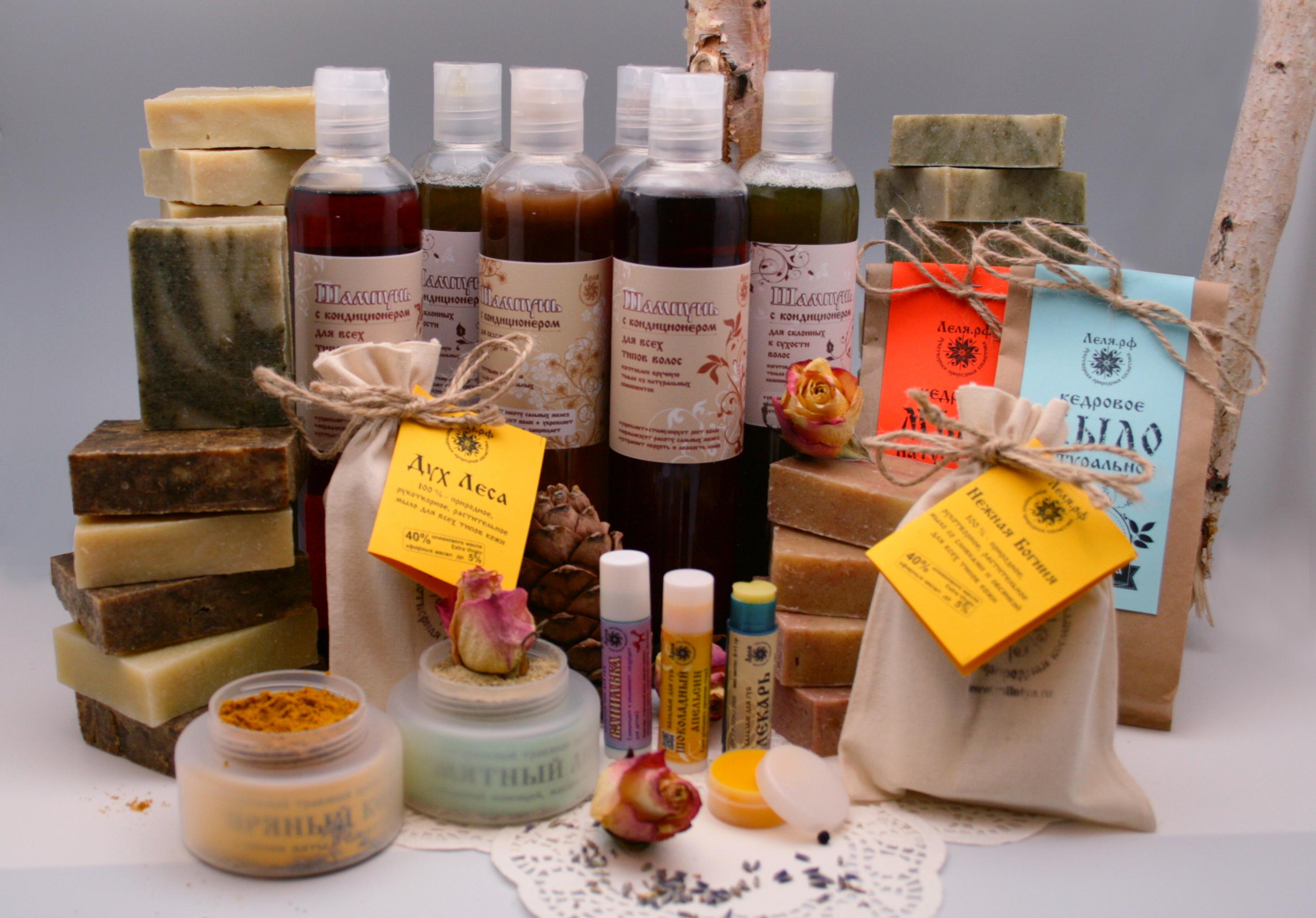 Многообразие продукции для мыловарения