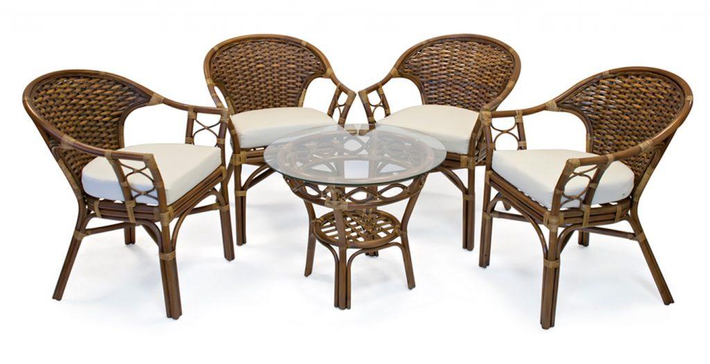 Стоит ли покупать мебель из ротанга в квартиру