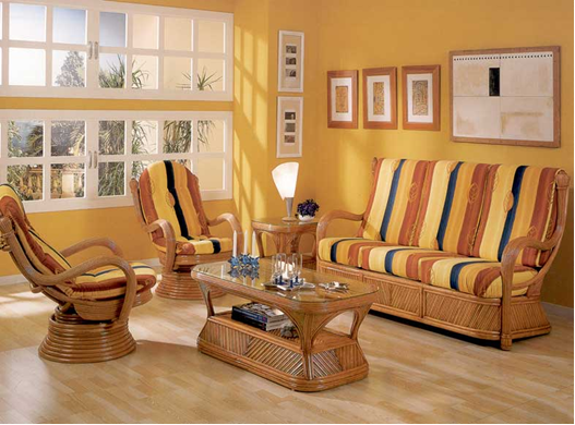 Познакомьтесь с плетёной мебелью из ротанга