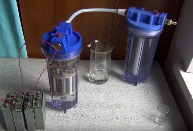 Генератор водорода высокой чистоты
